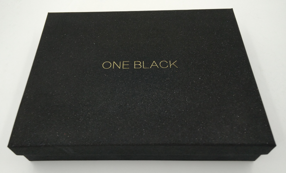 Clothing box black