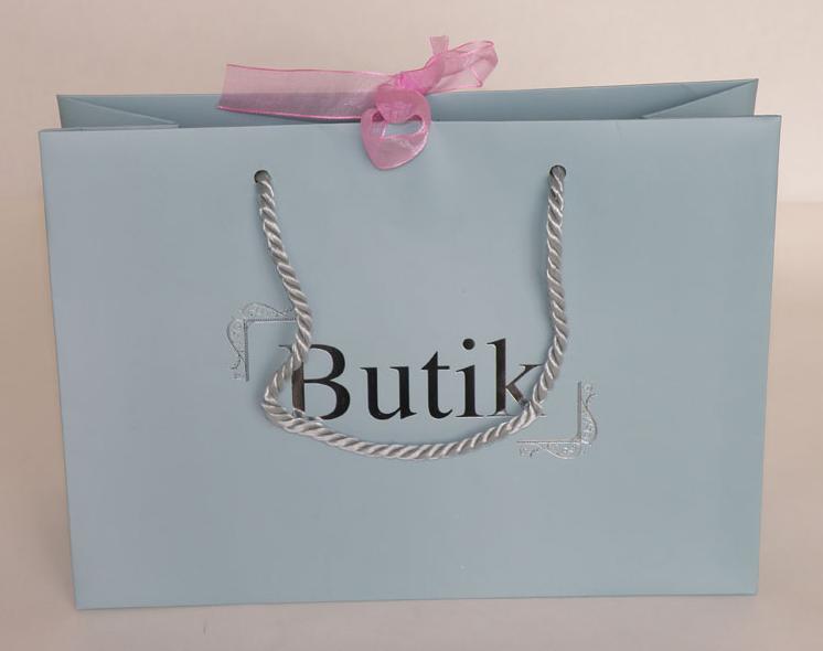 Sales Paper Bag Rope Handle