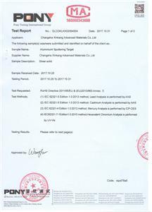 Rosh Certificates