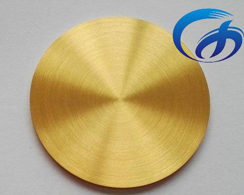 Gold Sputtering Target