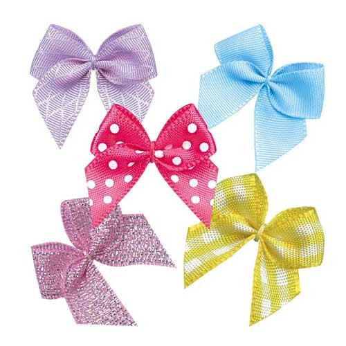 Satin Ribbon Bow For Bra