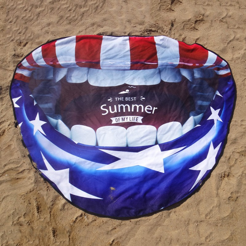 Irregular Shape Beach Towel