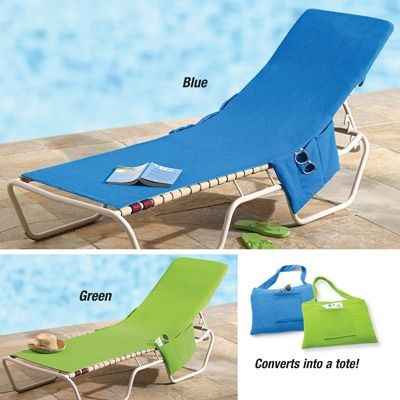 Beach Lounge Chairs Cover Towel
