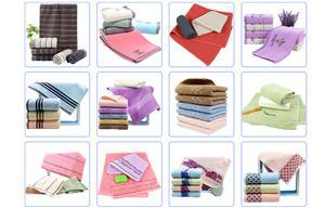 Towel Buyer Visits Company
