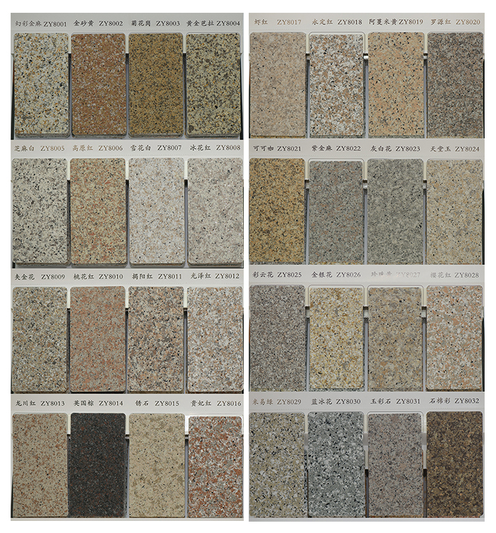 Multi Color Granite Paint
