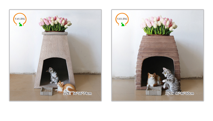Good quality artificial granite pet house