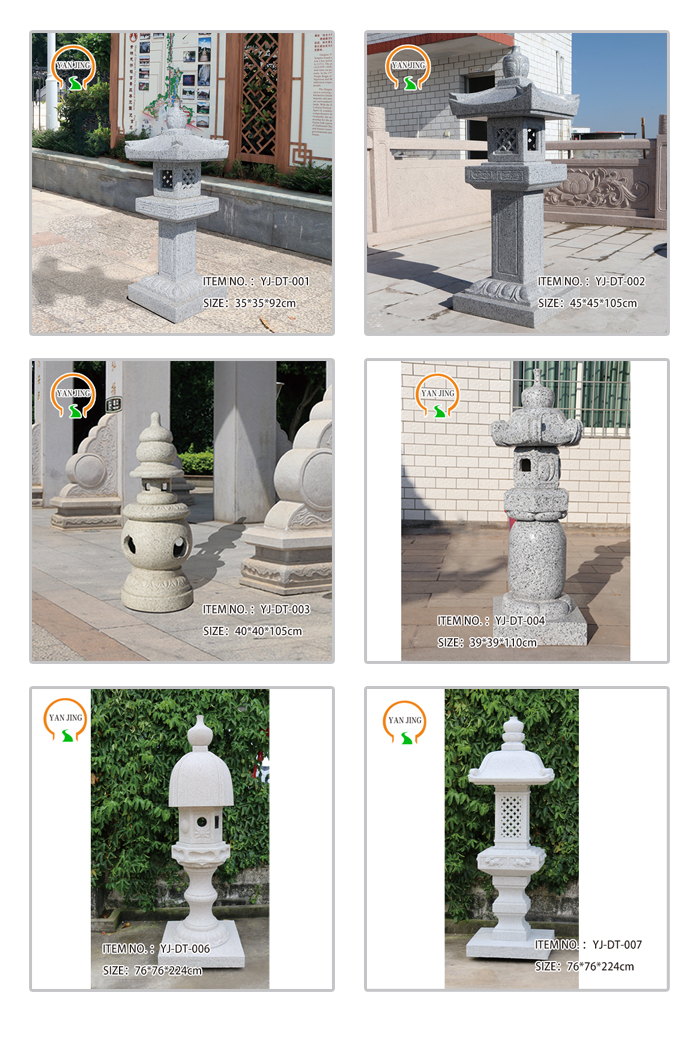 Good quality artificial granite lighthouse