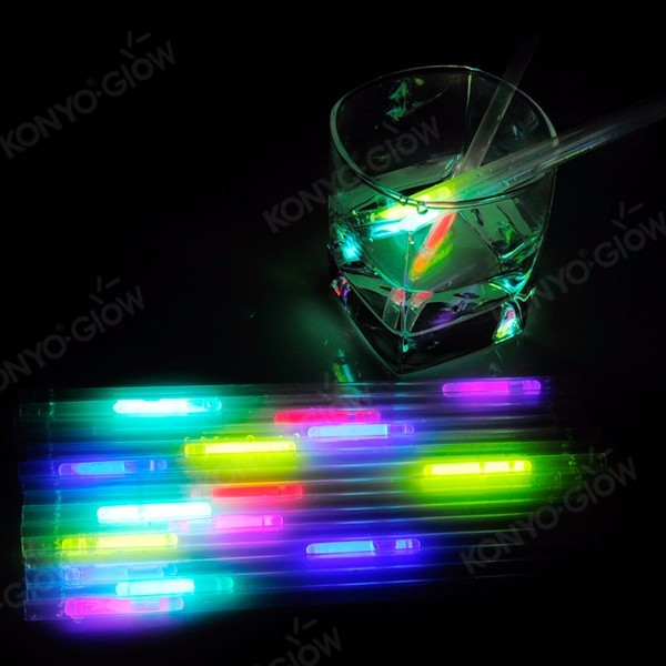 Wine Bar Supply Glow Straw