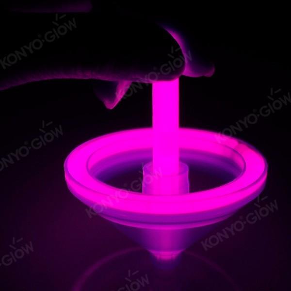 kid's lovely Toys Glow Gyro