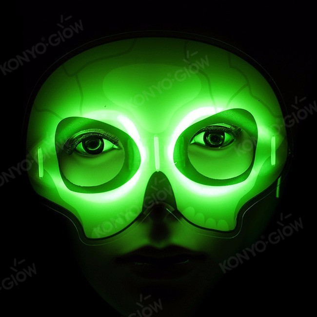 Halloween Party Toys Glow In The Dark Mask