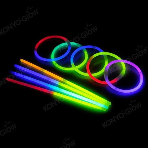 Wholesale BI-Color Glow Bracelets