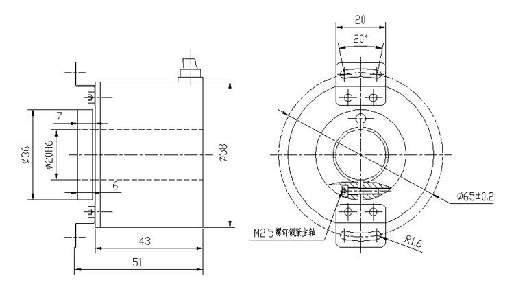 RS232 Interface encoder