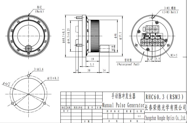 MPG Handwheel Encoder