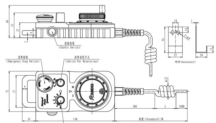 Hand-Wheel Pulse Generator