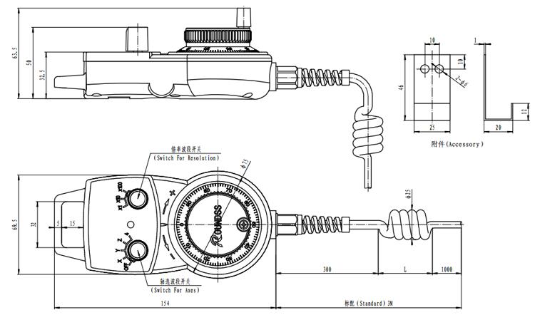 CNC Electronic Handwheel