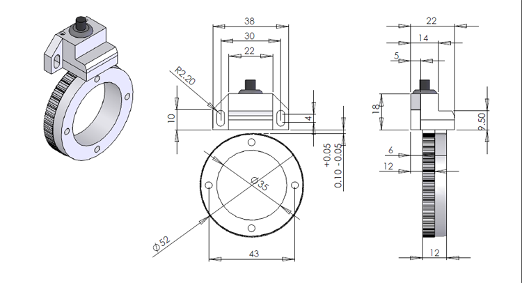 Gear Ring Encoder