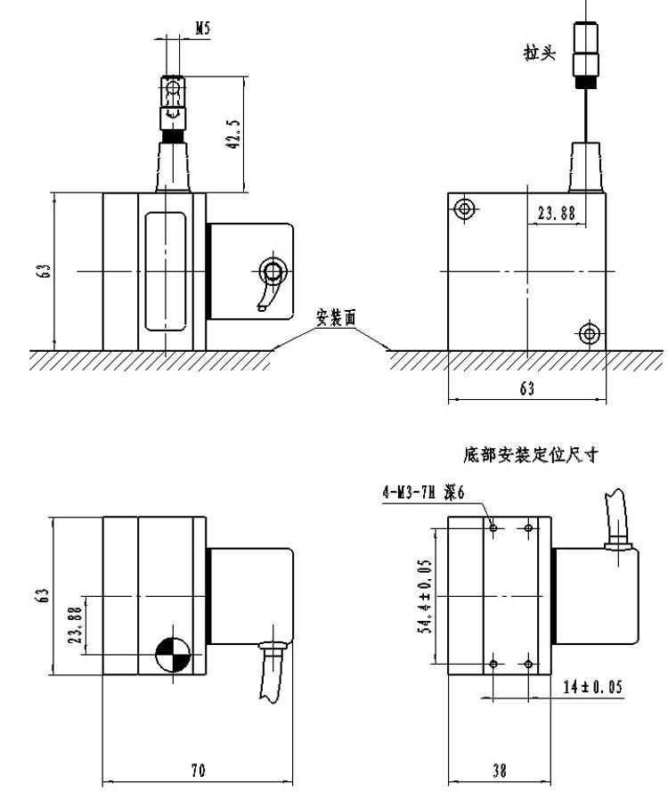 Displacement Sensor 0-10V