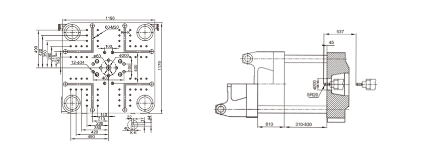 fixed type injection machine