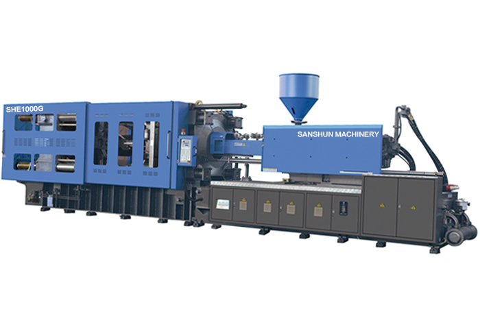 1000Ton Servo Motor Plastic Injection Moulding Machine