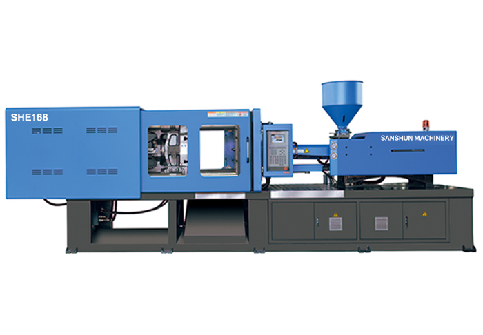 fixed pump plastic injection moulding machine