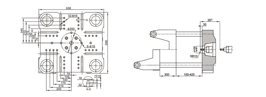 servo motor injection molding machine