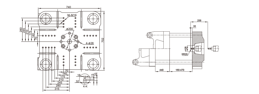 small injection molding machines for spoon and knife