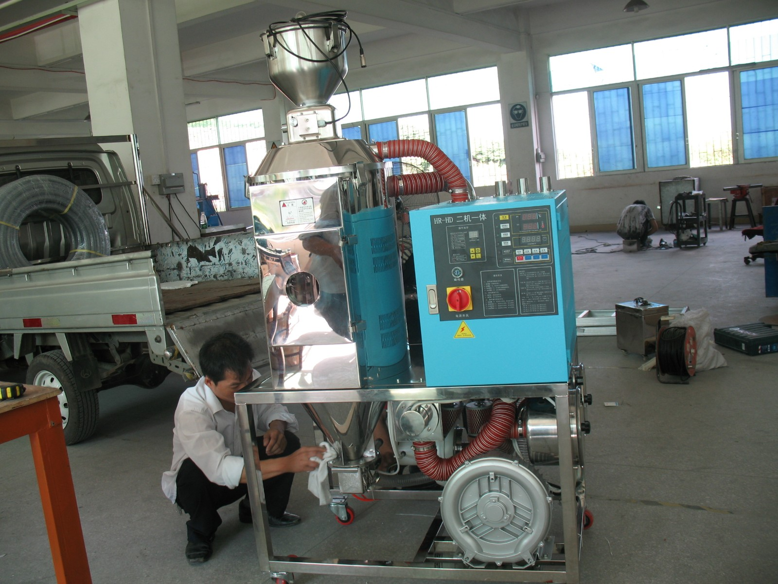 Mix Xeransis Machine, Mix Dryer Machine, Hybrid Dry System