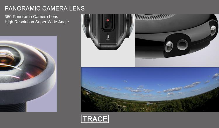 360 video camera lens