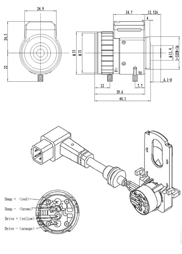 Varifocal zoom lens