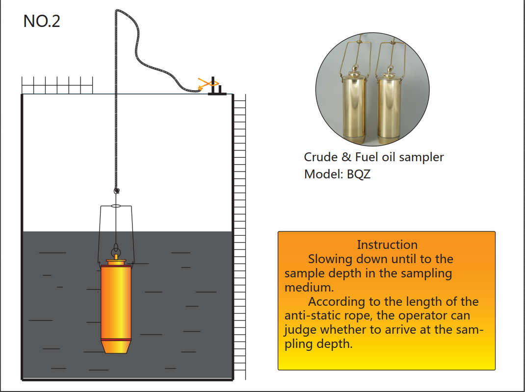 Heavy Oil Sampling Beaker