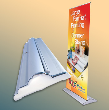 Buy SilverStep Retractable roll up banner stand, Supply SilverStep Retractable roll up banner stand, SilverStep Retractable roll up banner stand Suppliers