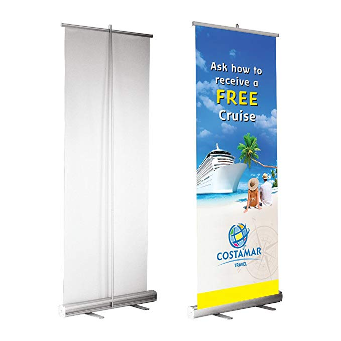 Portable Roll Up wholesale banner stands Factory