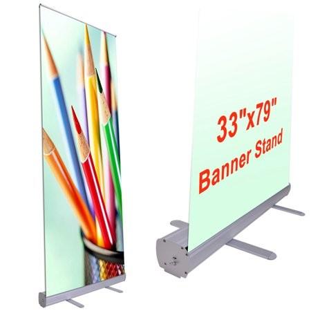 Supply Econo Roll Retractable pop up Banner Stands, Econo Roll Retractable pop up Banner Stands Factory