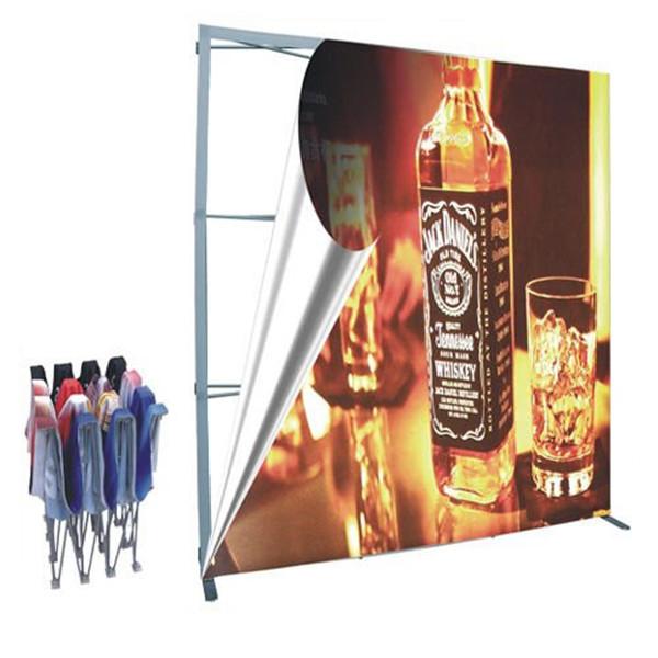 Pop Up Booth Display, Flex Setting Stand, Fold Setting Shelf