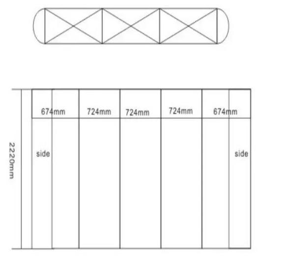 Pop Up Banner Stand, Flex Curtain Bracket, Flexible Screen Support
