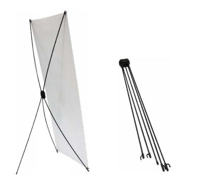 X Frame Banner Stand, Portable X Poster Base, Fold X Placard Socle