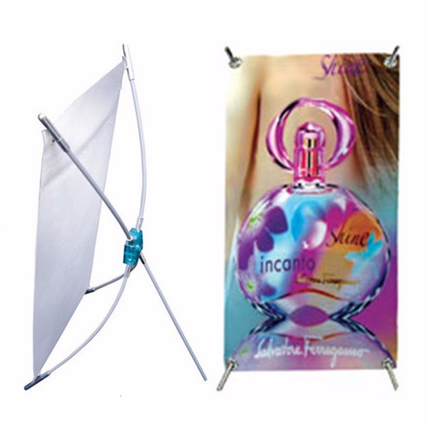 X Style Banner Stand, Flex X Notice Stands, Shrink X Notice Base