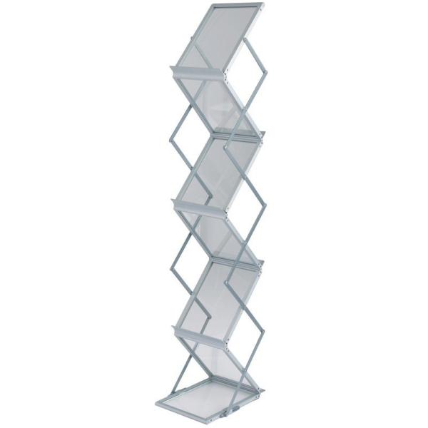 Zigzag Literature Rack