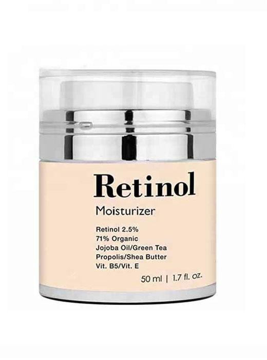 retinol moisturiser cream