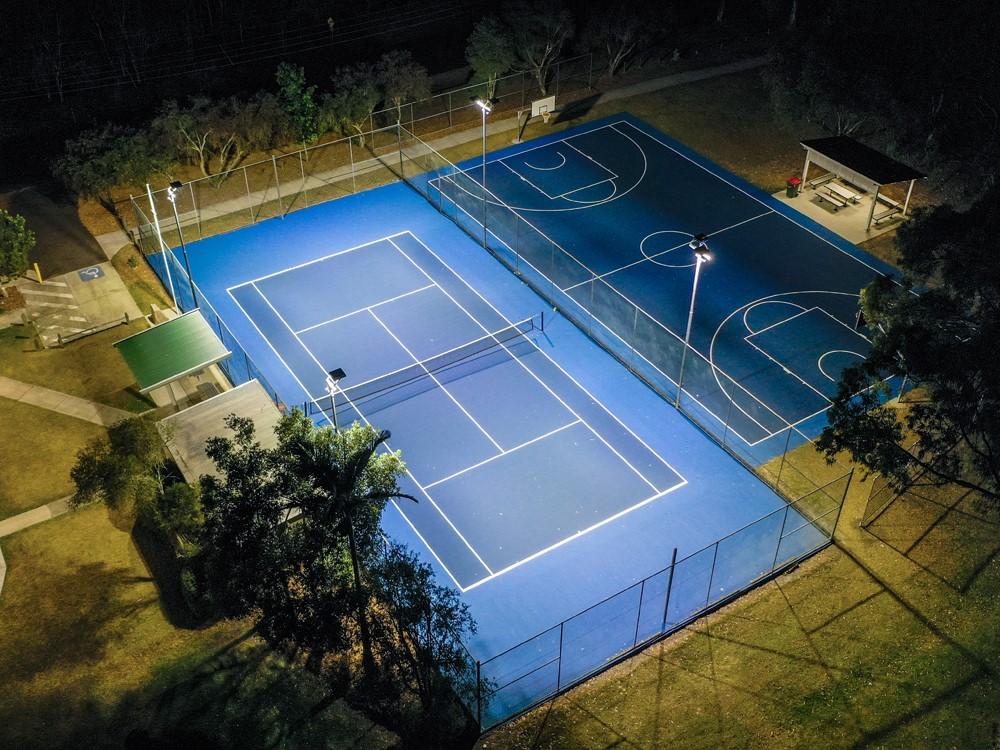 Mango Hill Community Tennis - 500W Riva Sports Lights