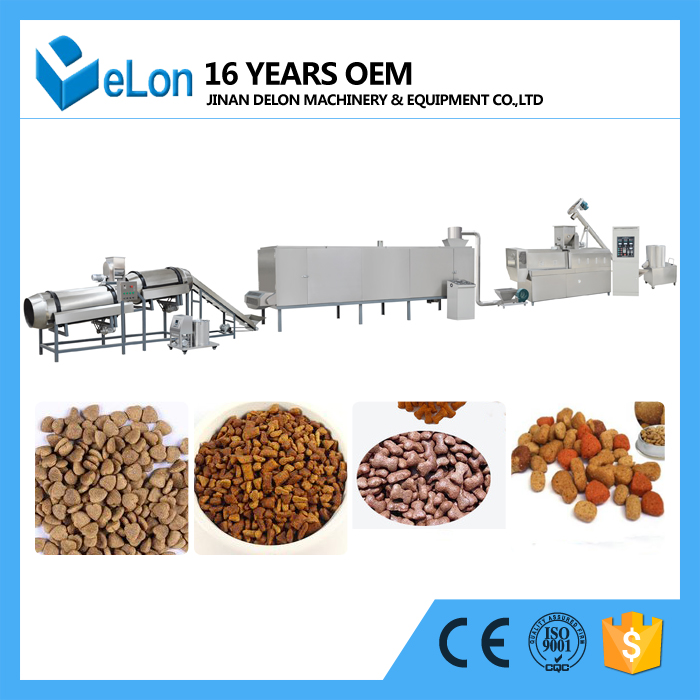 Fully Automatic Pet Dog Cat Food Processing Machine