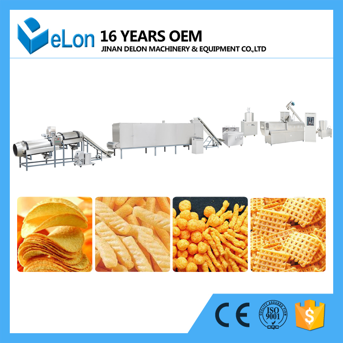 Puffed Snacks Food Production Line
