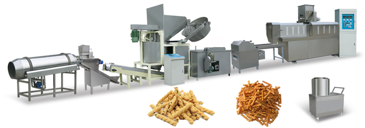 Custom Fried Dough Twists Production Line