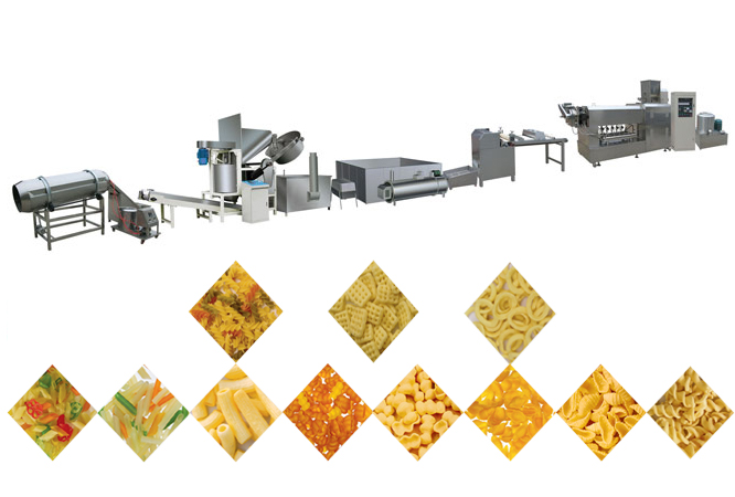 China Corn Chips Production Line