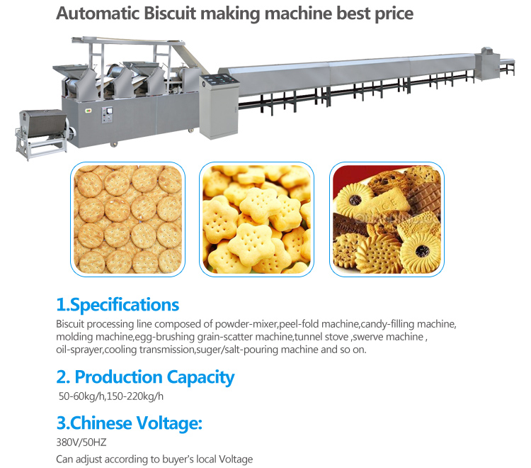 Purchase Biscuit Production Line