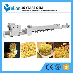 Steam Type Industrial Automatic Instant Noodles Production Line