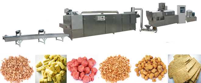 Brands Soybean Tissue Protein Production Line