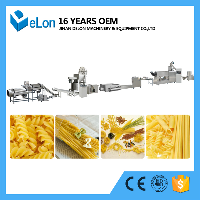 2d Screw Shell Extruder Food Production Line