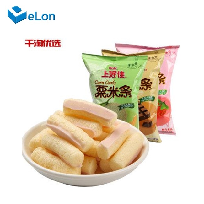 Crispy Corn Puff Snack Extruder Machine