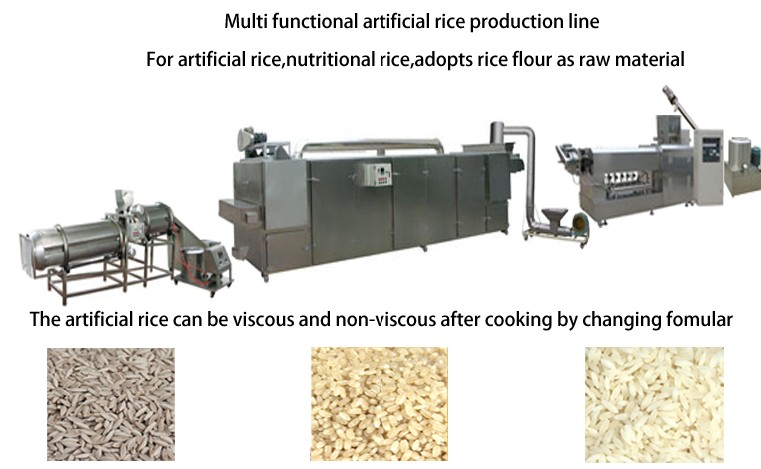 Artificial rice production equipment